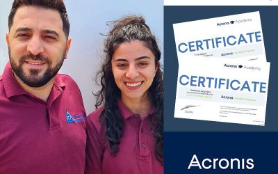 Two New Acronis Certified Engineers at Absolutely PC