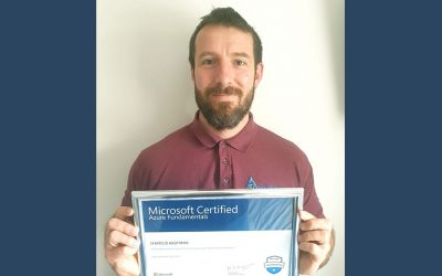 Marcus Achieves Microsoft Certification In Azure
